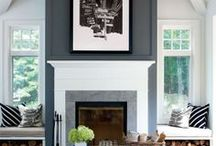 Fireplaces / by Decor Adventures | Home Decor + DIY Inspiration
