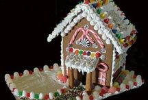 Perfect GingerBread Houses / Beautiful gingerbread houses / by Liisa Fenech-Petrocchi