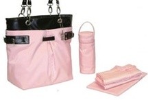Pink Diaper Bags / Stylish and beautiful pink diaper bags.