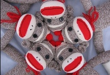Virtual Collection. Sock Monkeys / by Kathy Golden