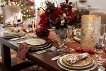 Dream Holiday Tablescapes / It's the most wonderful time of year to host family and friends. Here's the deal: You make the food and Pottery Barn will decorate your holiday table ever so decadently!