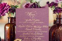 Wedding Stationary Finalists