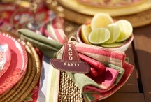 Fiesta / Vamos! We've collected the best margaritas mixes, guacamole recipes, exotic taco combos and table settings for a fabulous and fun fiesta.