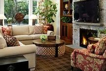 Living Room Ideas / by Heather Harrison