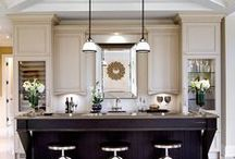 Kitchens / White subway tile, rustic reclaimed wood islands and classic pendants — what does your dream kitchen look like?