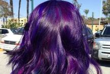 Hair Stuff / fun hair colors and styles and hair styling tips / by Janée Farrar