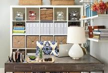 Home Office & Organization / Get organized! Our favorite home offices show how working from home can be functional and beautiful. (Tip: Think lots and lots of baskets)