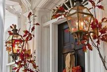 Fall Front Doors / These autumnal entrances will give your guests a perfect welcome for the season.  / by Pottery Barn