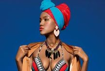 African-inspired shoot
