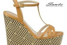 Sante Wedges S/S 14 Collection / Sante Wedges Spring/Summer 2014 Collection. Discover it on: http://bit.ly/sante-platformes-ss14