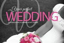 Wedding Planner / A print and online guide for planning the perfect wedding.  Distributed to related businesses and given to future brides and grooms in and around Detroit Lakes, Perham, New York Mills, Wadena and Park Rapids.