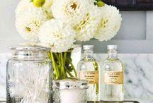 Bathroom Ideas / Clean and Fresh... / by Kari Purchase