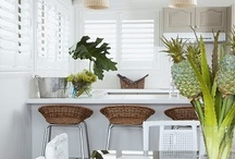 Rattan, seagrass, wicker and wood