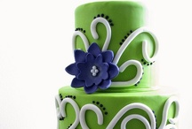 Green Cakes / Green cakes & desserts galore!