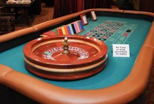 Casino Parties / Casino parties are a great way to put your guests in the middle of the action allowing for great mingling opportunities. We handle all the details of the event including table rental, playing equipment, dealers, delivery, set-up, pick-up and event logistics.
