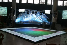 Dance Floors / PRI Productions offers a wide selection of dance floor packages. Our dance floors are perfect for weddings, bar mitzvahs, parties, or any other special event or venue. We even offer custom dance floor designs! Contact us now so we can help you select the perfect dance floor for your next event.