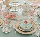 """Tea Time / """"Come let us have tea and continue to talk about happy things.""""  --Chaim Potok"""