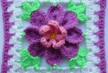 """6"""" squares to crochet or ideas to make them / these are squares or stitches I have come across that I could use for memory afghans.  Some are already 6 inch square patterns, others are ideas that could be used to make a 6 inch square. / by Brenda Johnson"""
