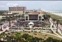 Jacksonville Beach Events / PRI Productions has long been a vital part of many events at the Jacksonville Beach. From Moonlight Movies to Jazz Series, ou input has been an instrumental part of the success of these and many other events at the Jacksonville Beach.  / by PRI Productions