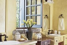 """French Country Style / """"The magic of French Country style comes from the mix.  You have to walk into a room and think, gosh, i never expected this.:--Salome Gunter"""