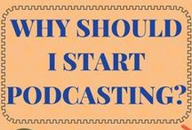 Podcasting / Wondering how to start a podcast? We will be sharing blog posts and e-courses with the best tips about launching your next podcast.