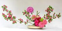 Ikebana Beautiful / Dit board bevat allerhande materiaal gemaakt van bloemen. #sogetsu #ikebana #flowerarrangement