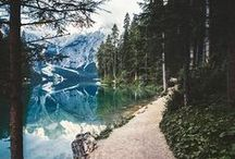 INSPIRE | adventure time. / An array of photos to get you excited about your next adventure. From must-visit places to swoon worthy outdoor images. A few images you will find in this board: adventure, exploring, wanderlust, travel, road trip, hiking, camping, ocean, lakes, forest, mountains, fog, and mist.