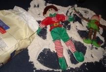 Christmas Elf Mischief / Elf on a Shelf Mischief / Elf Ideas for Elf on the Shelf and Elf Magic Christmas traditions.