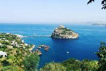 Island of Ischia  / #iloveischia / by Hotel Ape Regina Ischia
