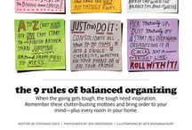 Organize / Need organization tips for your life and home? Read the pins on this board for a more organized and productive life!