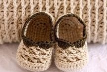 crochet booties and shoes / by Simply Done Crochet