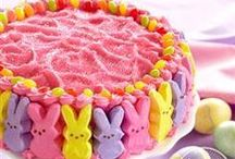 Easter Treats / You can be sure the Easter bunny will stop by with one of these cakes, cookies or pies.  / by Pillsbury Baking