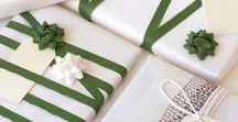Wrapped around my finger / Gift wrapping, package design, DIY and more.
