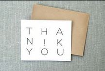 Thank You Cards / design styles that inspire muchas gracias