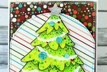 Christmas Cards / This is how you wish a Merry Christmas, with awesome handmade cards!