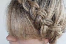 HAIR!! / What to do with your hair today? Find here lots of pretty and easy styles!