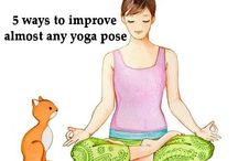 YOGA / Yoga it's so good for the body and soul! Namaste!