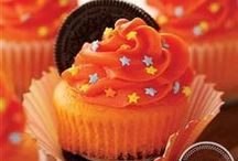 Orange All Star™ / Get inspired to create something bold with Pillsbury® Funfetti® Orange All Star Cupcake and Cake Mix and Vanilla Flavored Frosting.  / by Pillsbury Baking