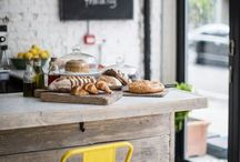 GAWKING | the food business. / A board filled with restaurant design inspiration. A few things you will find in this board: restaurant design inspiration, cafe design, modern design, modern cafe, modern restaurant, tabletop inspiration, store front ideas.