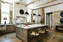 Kitchen Inspiration / Ideas and inspiration for our Kitchen ranging from modern to rustic!