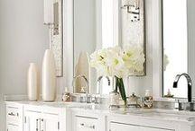 Bathroom Inspiration / Bathroom inspiration for our home!