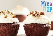 Mix It Up! / The best of both worlds! These recipes pair classic Pillsbury® Baking products with some of our bold  and seasonal mixes and frosting!  / by Pillsbury Baking