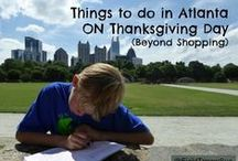 Thanksgiving in Atlanta (beyond shopping) / Looking for things to do after the big Thanksgiving meal (beyond shopping)? Retailers aren't the only ones open on Thanksgiving day. Grab the family (or not) and head out for a little fun. We'll show you where to go.