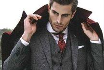 Men's Suit Style / by Daniella Luco-Kasturiratne