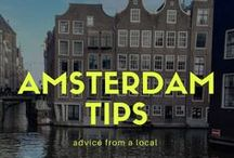 Amsterdam / Amsterdam, Netherlands, Holland, what to do in amsterdam, visit Amsterdam, brewery, boating, rijksmuseum, van gogh museum