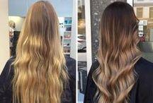 Ombre Hair hår & Balayage Hair hår / Inspiration Ombre & Balayage Hair