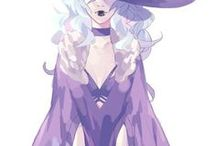 Char Inspo: Andromeda Vesper / Libussa Prefect, Senior Cursebreaker, CoW19