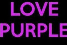 Sweet PURPLE dreams!! / Things that rock my favorite color! / by Nancy Jarvis
