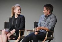 StephenMoyer & AnnaPaquin / My celebrity couple 'crush'. I adore these two and can't get enough of the chemistry and 'looks of love' between them.  / by Nancy Jarvis