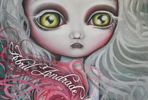 Abril Andrade Art / Her work is so beautiful! http://www.abrilandrade.com/